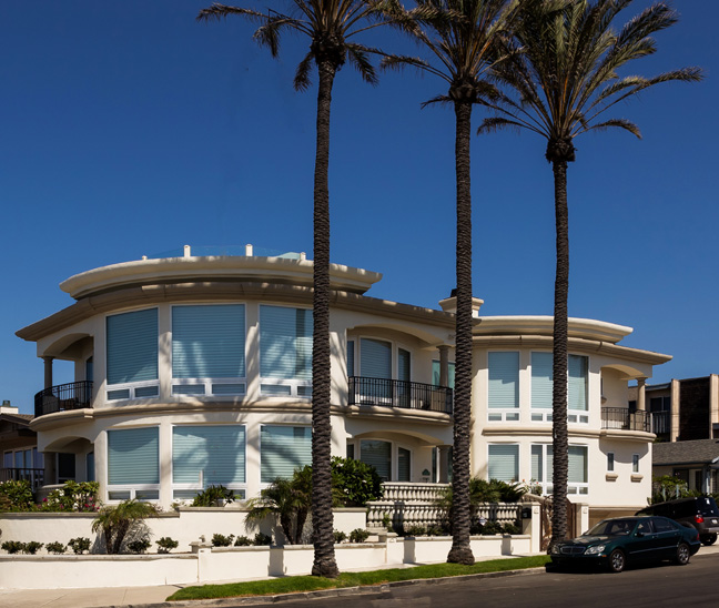 Contemporary Italianate Ocean Front Residence, Carlsbad